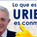 Gran movilización a favor de Uribe